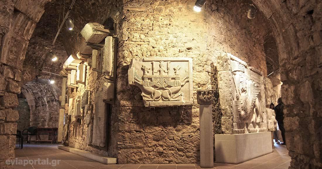 Μουσείο Δυτικού Προμαχώνα στο Φρούριο Καράμπαμπα, Χαλκίδα